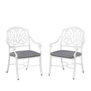 Home Styles Floral Blossom II Arm Chairs (Set of 2)