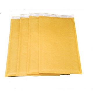 Self-seal Kraft Bubble Mailers (Case of 200)