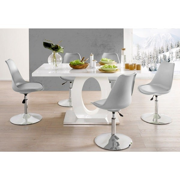 Scandinavian Lifestyle Marc High Gloss Dining Table
