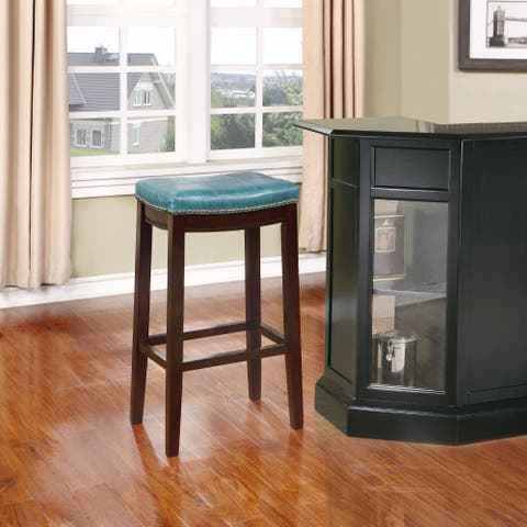 Copper Grove Willamette Blue Bar Stool