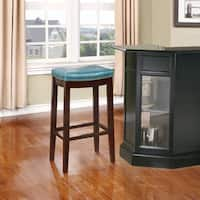 Laurel Creek Agatha Blue Bar Stool