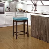 Laurel Creek Agatha Blue Counter Stool