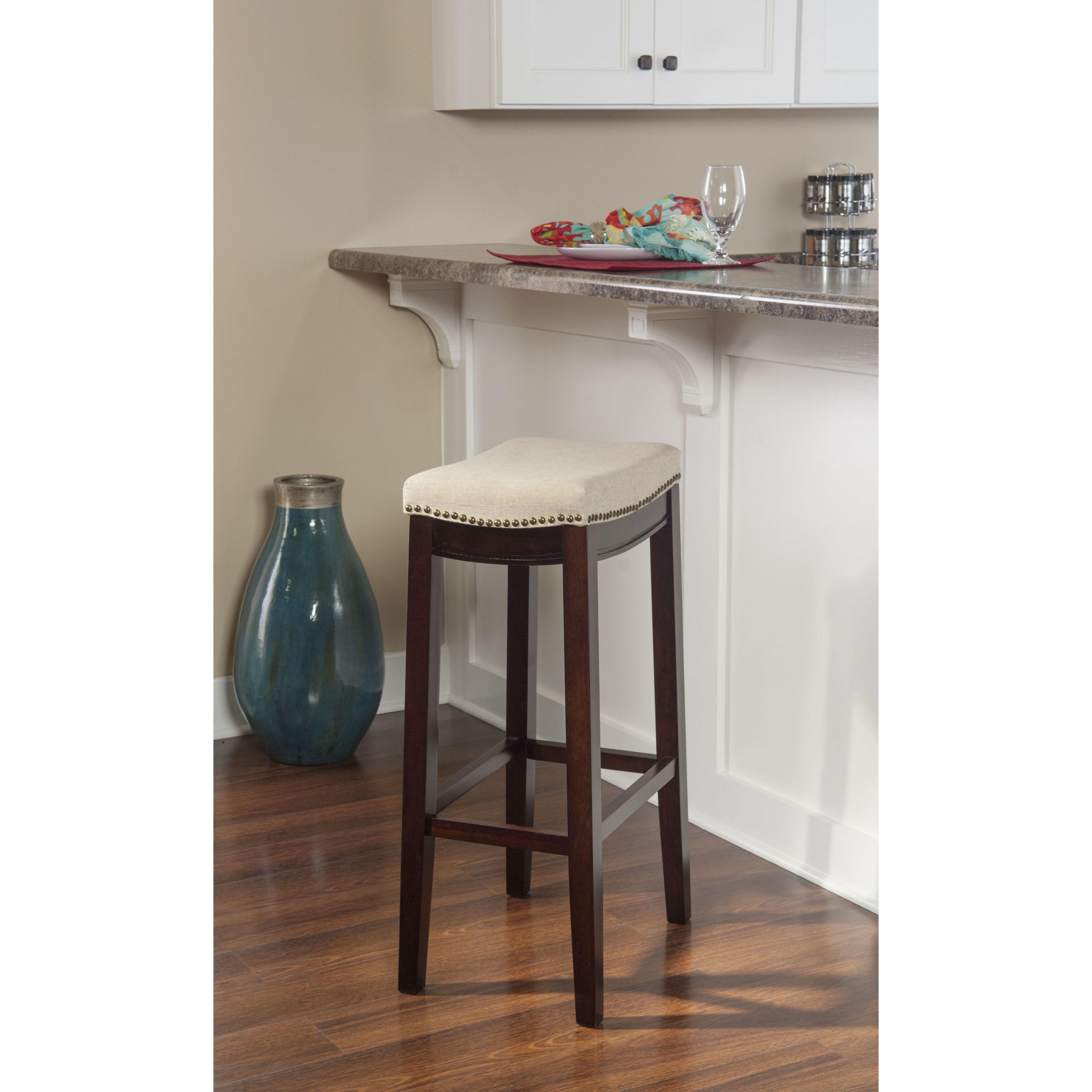 Peachy Linon Bridgeport Bar Stool Jute Unemploymentrelief Wooden Chair Designs For Living Room Unemploymentrelieforg