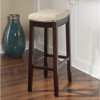 Linon Bridgeport Bar Stool - Jute