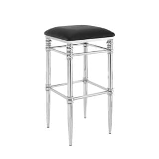 Linon Sharon Bar Stool - Black