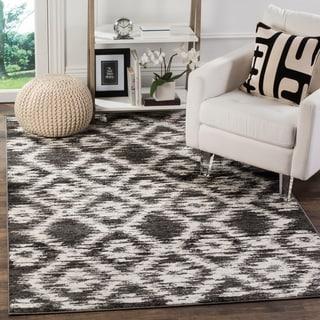 Safavieh Adirondack Modern Charcoal/ Ivory Rug (4' x 6')