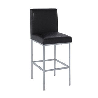 Linon Carrie Counter Stool - Black