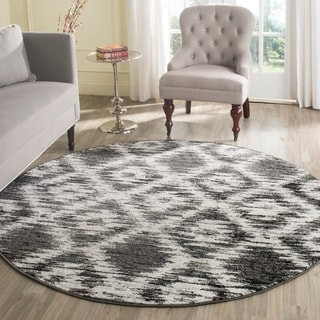 Safavieh Adirondack Grey Blue Rug 8 X 8 Square