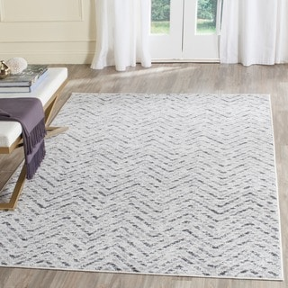 Safavieh Adirondack Modern Ivory/ Charcoal Rug (6' Square)