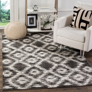 Safavieh Adirondack Modern Charcoal/ Ivory Rug (6' x 9')