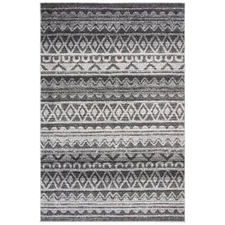 Safavieh Adirondack Modern Boho Ivory / Charcoal Rug (6' x 9')