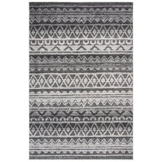Safavieh Adirondack Modern Boho Ivory / Charcoal Rug (9' x 12')