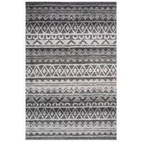 Safavieh Adirondack Modern Boho Ivory / Charcoal Rug - 9' x 12'