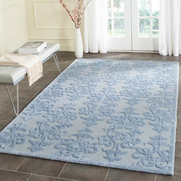 Shop Safavieh Handmade Bella Arrie Modern Floral Wool Rug
