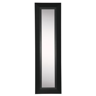 American Made Rayne Attractive Matte Black Mirror Panel