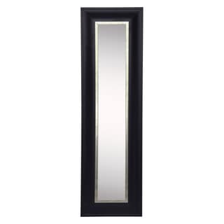 American Made Rayne Grand Black and Aged Silver Mirror Panel