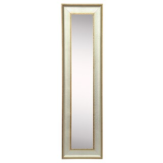 American Made Rayne Vintage Silver Mirror Panel