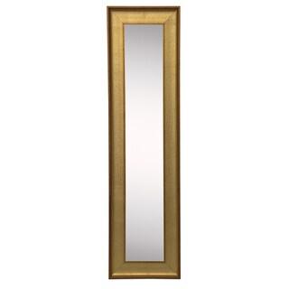 American Made Vintage Gold Mirror Panel - Black/Gold