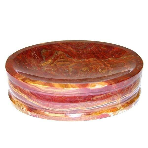 Nature Home Decor Pacific Collection multi onyx Soap Dish