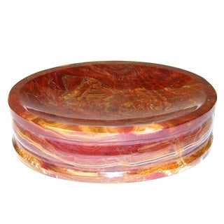Nature Home Decor Pacific Collection multi onyx Soap Dish