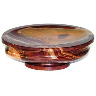 Nature Home Decor Mediterranean Collection multi onyx Soap Dish