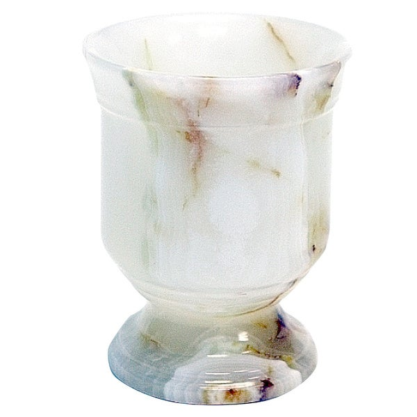 Nature Home Decor Tasmanian Collection White Onyx Tumbler