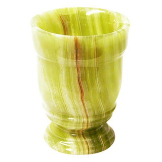 Nature Home Decor Tasmanian Collection Classic Green Onyx Tumbler