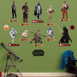 Fathead Star Wars: The Force Awakens Wall Decals Collection