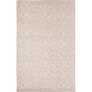 Hand-Knotted Forbach Wool/Cotton Area Rug