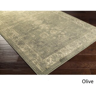 Castr Area Rug (7'10 x 9'10) (Option: Olive)