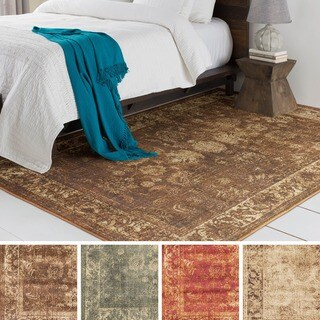 Meticulously Woven Castr Rug (7'10 x 9'10) (Option: Olive)