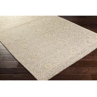 Hand-Knotted Forbach Wool/Cotton Area Rug (6' x 9') - 6' x 9'