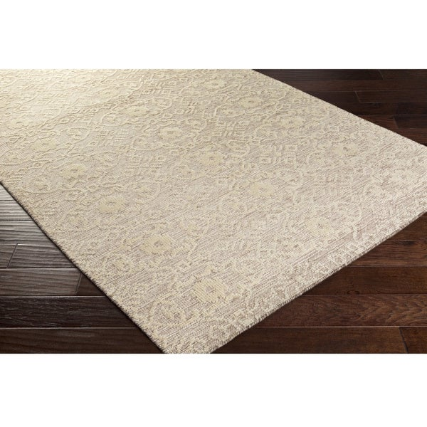 Hand-Knotted Forbach Wool/Cotton Area Rug - 4' x 6'