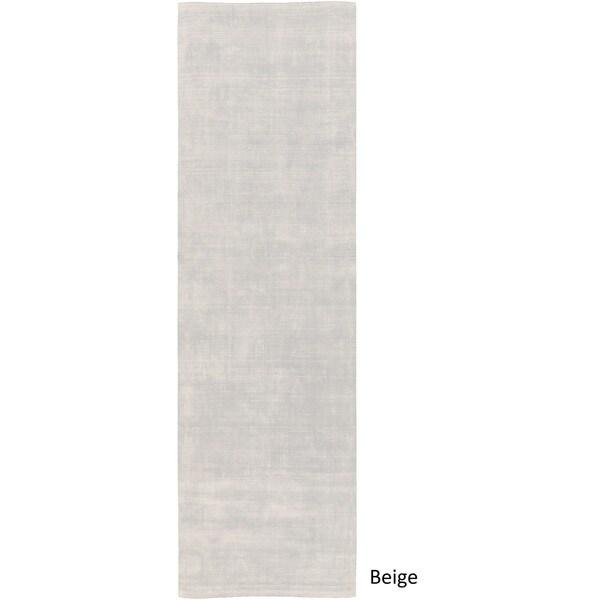 Handmade Lambersart Viscose Rug (2'6 x 8')