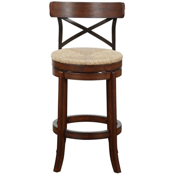 The Gray Barn Parker Swivel Bar Stool (As Is Item). Opens flyout.