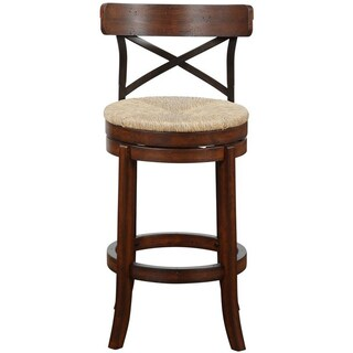 The Gray Barn Parker Swivel Bar Stool