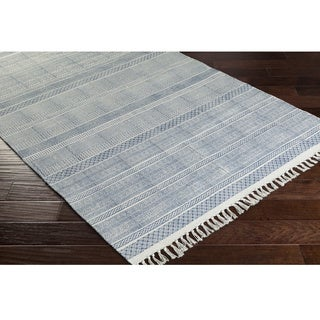 Hand-Woven Charleigh Cotton Rug (2'6 x 8')