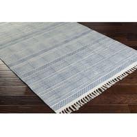 Charleigh Cotton Handmade Kilim Runner Rug (2'6 x 8')
