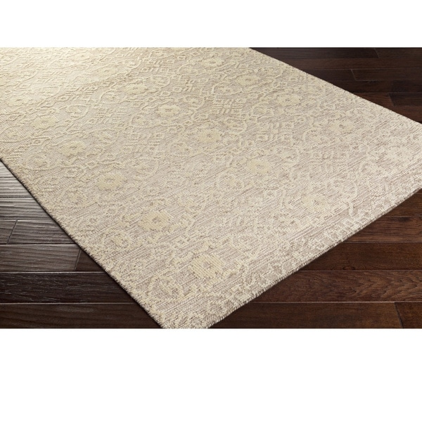 Hand-Knotted Forbach Wool/Cotton Rug (2' x 3')