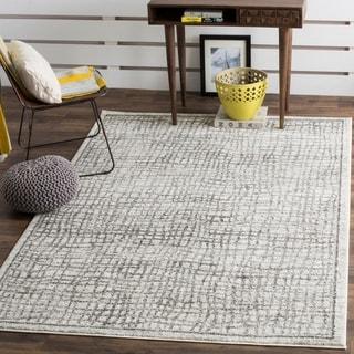 Safavieh Adirondack Silver/ Ivory Rug (5'1 x 7'6)