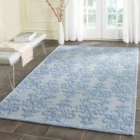 Safavieh Handmade Bella Blue Wool Rug - 6' x 9'