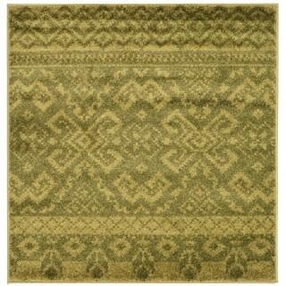 Safavieh Adirondack Green/ Dark Green Rug (4' Square)