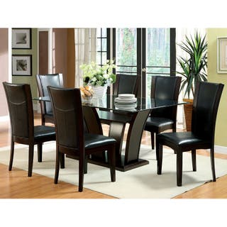 Size 7-Piece Sets Glass Kitchen & Dining Room Sets For Less ...