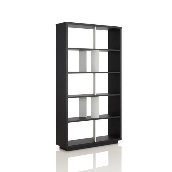 Furniture Of America Daki Modern Black Open Back