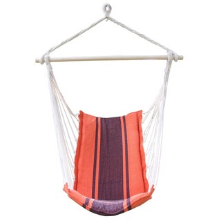 Adeco Deluxe Style Cotton Fabric Hanging Chair