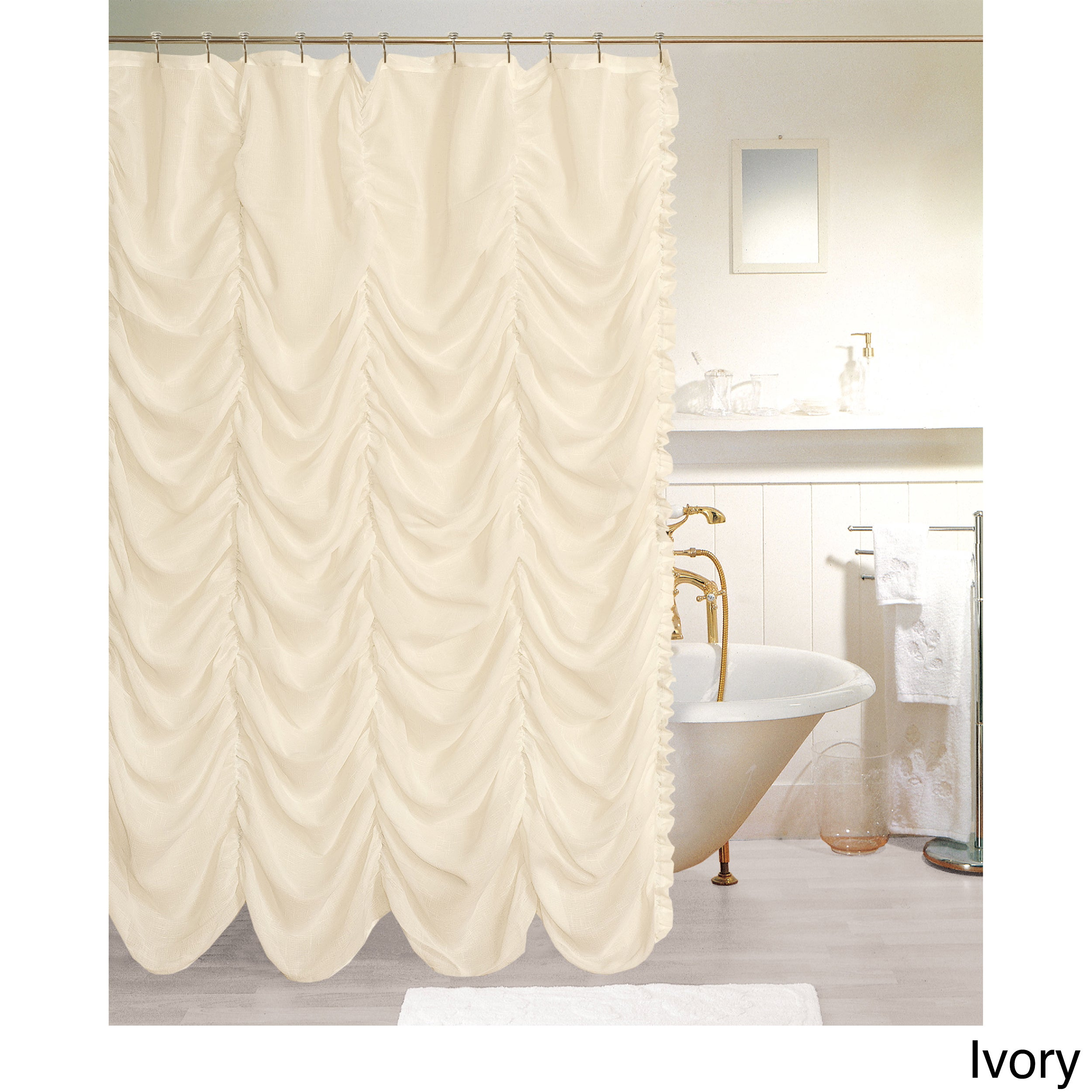 beige liner with p curtain x shower embroidered regal jeweled