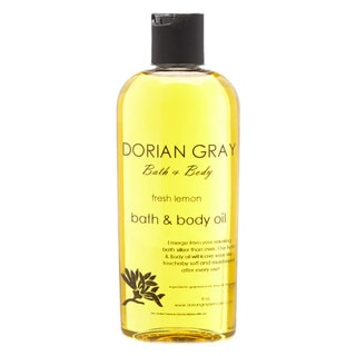 Fresh Lemon Mineral Bath and Massage 8-ounce Oil