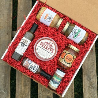 Veggie Wagon Spicy Lovers Gift Box