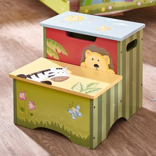 Fantasy Fields Sunny Safari Step Stool