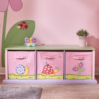 Fantasy Fields Magic Garden 3-drawer Cubby